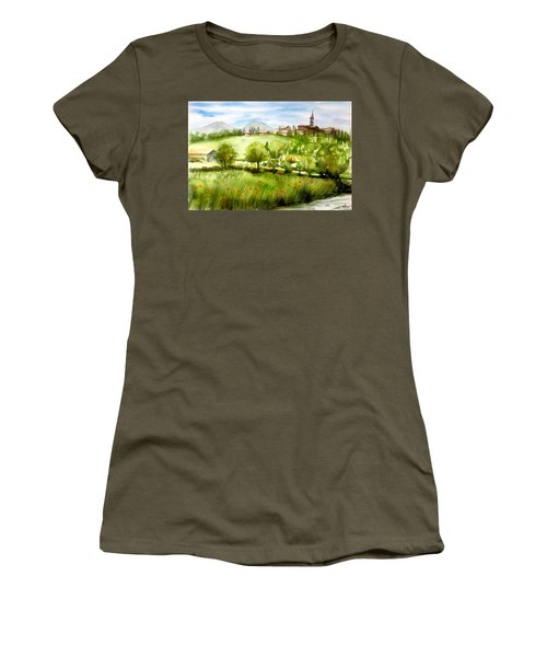A View From Tuscany Women's T-Shirt (Athletic Fit)
