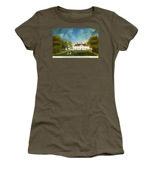 A View Of Mount Vernon Women's T-Shirt