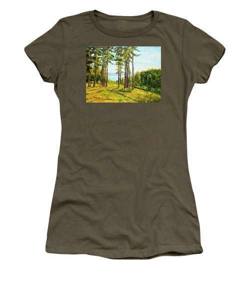 A View To The Lake Women's T-Shirt