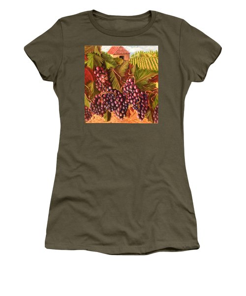 A Vineyard  Women's T-Shirt (Athletic Fit)