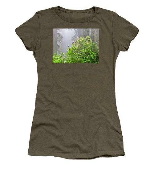 A Walk Alone Women's T-Shirt (Junior Cut) by Marilyn Diaz