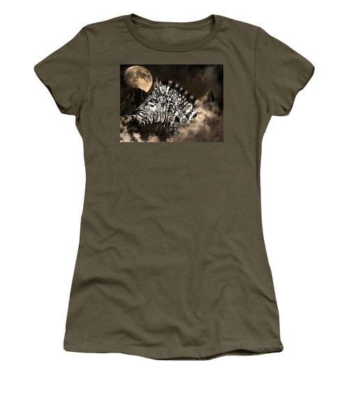 A Wild Steampunk Zebra Women's T-Shirt