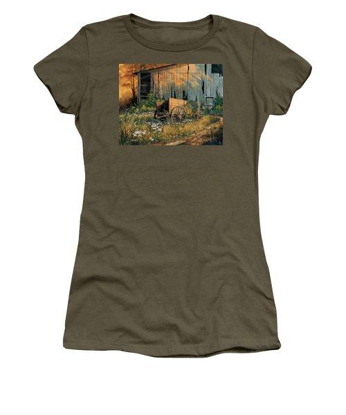 Abandoned Beauty Women's T-Shirt (Junior Cut) by Michael Humphries