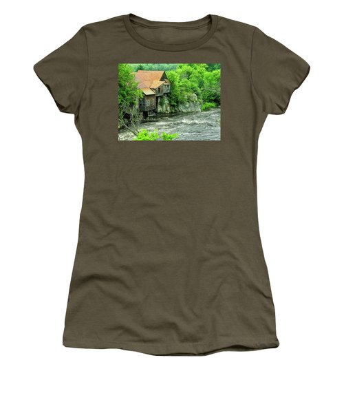 Abandoned Home By The River Women's T-Shirt