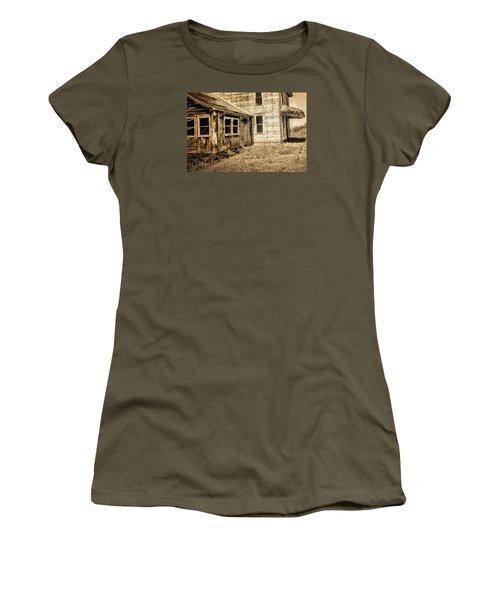 Abandoned House 2 Women's T-Shirt (Junior Cut) by Bonnie Bruno