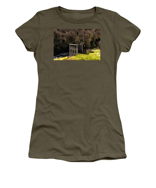 Abandoned Mill What Remains ... Women's T-Shirt