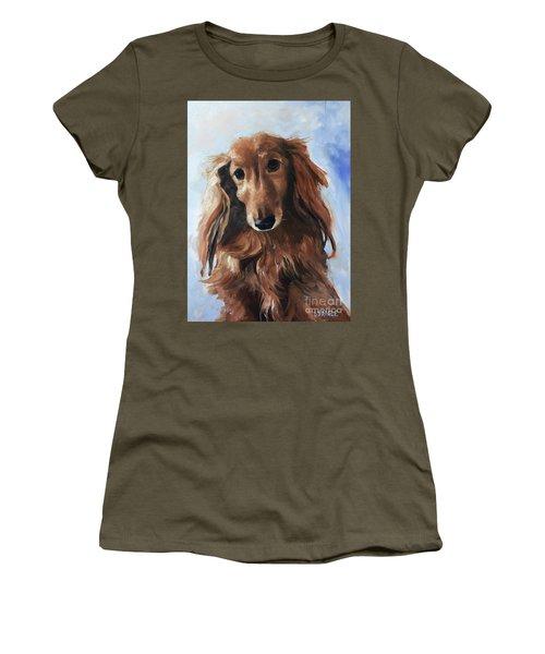 Abby Women's T-Shirt (Junior Cut) by Diane Daigle