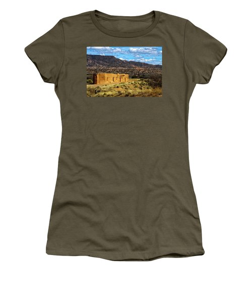 Abiquiu Church Women's T-Shirt (Junior Cut) by Robert FERD Frank
