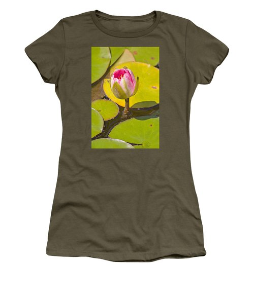 About To Bloom Women's T-Shirt (Junior Cut) by Peter J Sucy