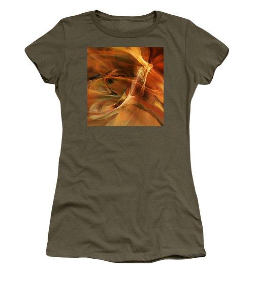 Abstract 060812a Women's T-Shirt (Junior Cut) by David Lane