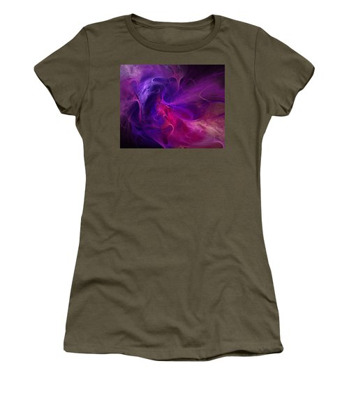 Abstract 111310b Women's T-Shirt (Athletic Fit)