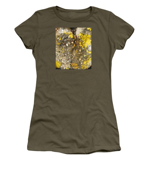 Abstract Art Seen In Parking Lot Women's T-Shirt (Athletic Fit)