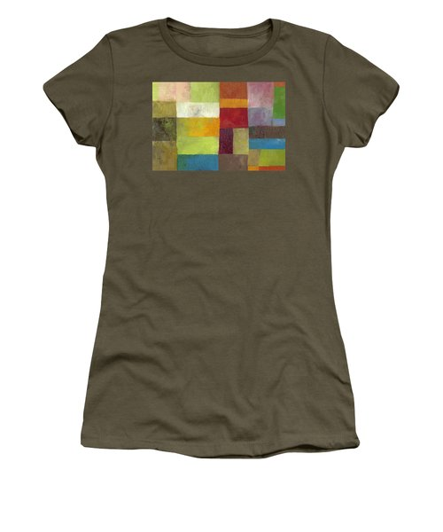Abstract Color Study Lv Women's T-Shirt (Athletic Fit)