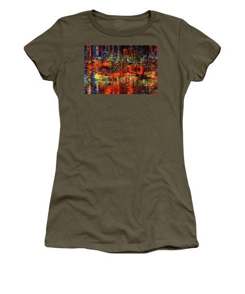 Abstract Evening Women's T-Shirt
