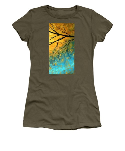 Abstract Landscape Art Passing Beauty 2 Of 5 Women's T-Shirt