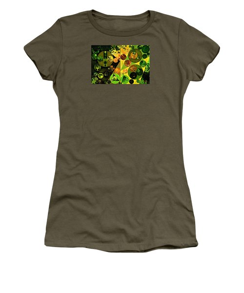 Abstract Painting - Barberry Women's T-Shirt (Junior Cut) by Vitaliy Gladkiy