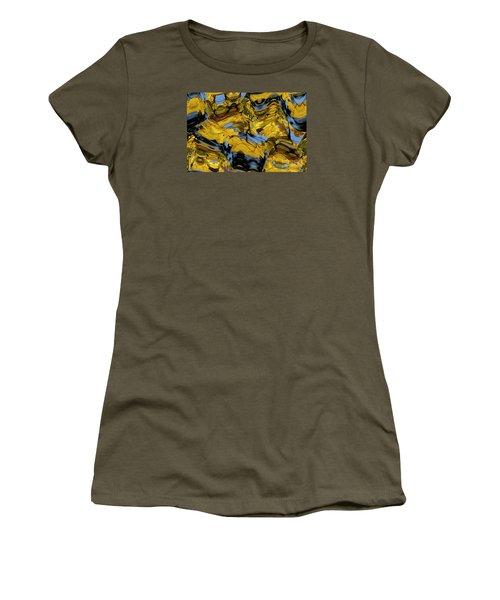 Abstract Pattern 4 Women's T-Shirt (Junior Cut) by Jean Bernard Roussilhe