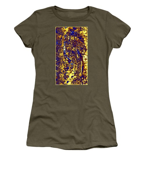Women's T-Shirt (Junior Cut) featuring the digital art Abstractmosphere 3 by Will Borden