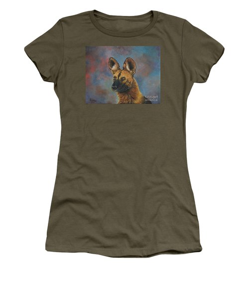 African Painted Wild Dog Women's T-Shirt