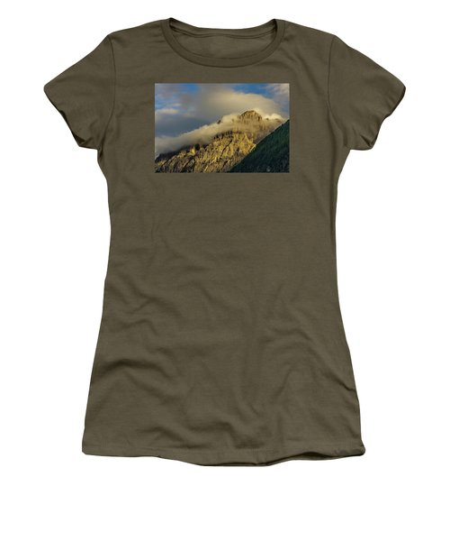 After The Rain In The Austrian Alps. Women's T-Shirt (Athletic Fit)