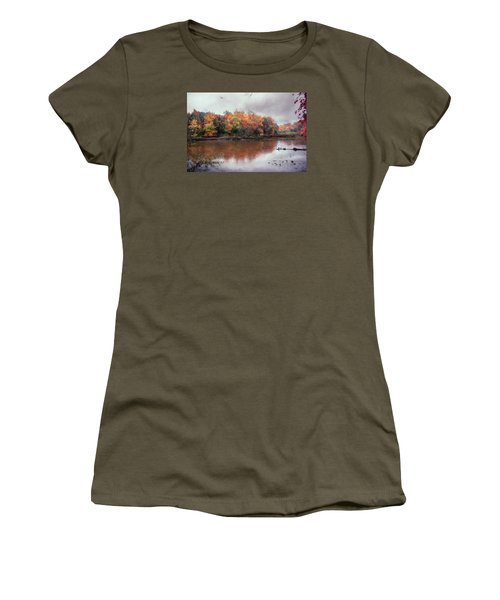 Afternoon Rain Women's T-Shirt (Junior Cut) by John Rivera