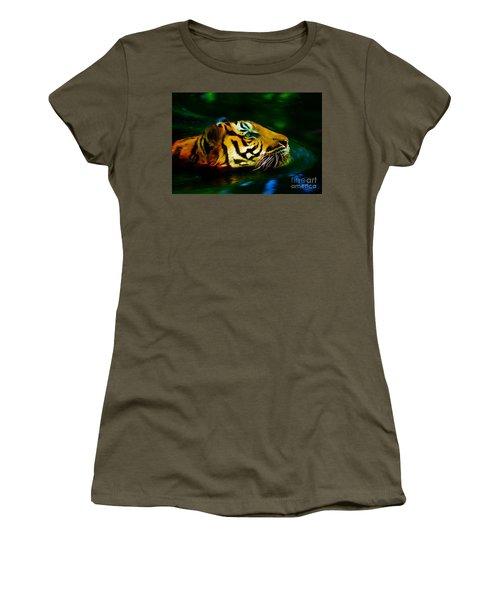 Afternoon Swim - Tiger Women's T-Shirt
