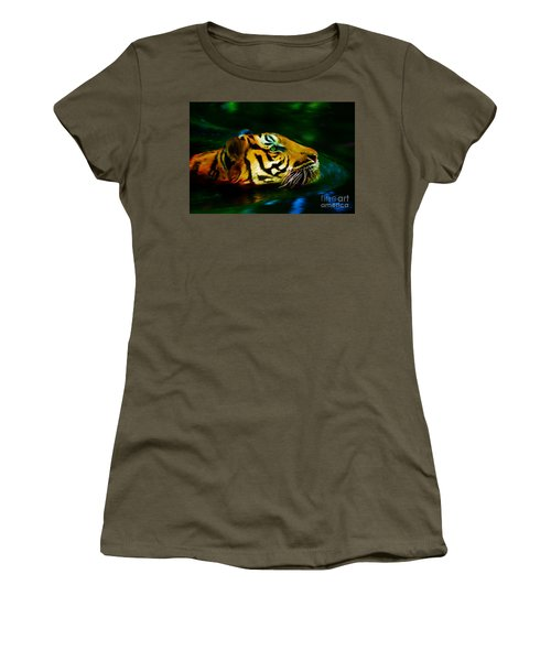 Afternoon Swim - Tiger Women's T-Shirt