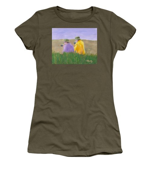 Afternoon Tea Women's T-Shirt (Junior Cut) by Patricia Cleasby