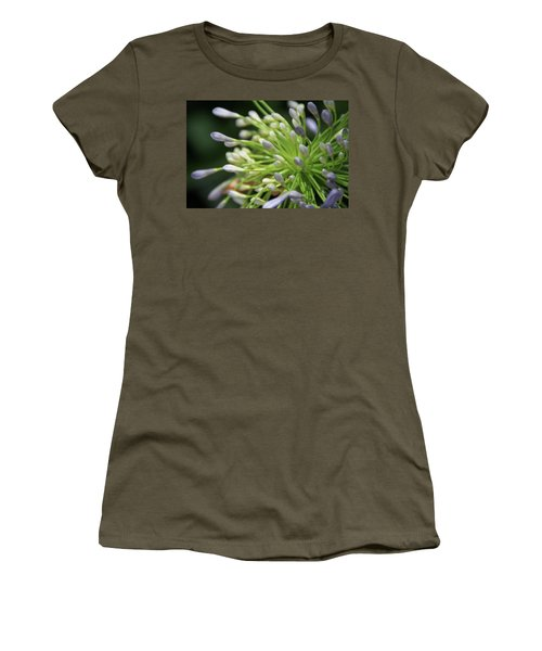Agapanthus, The Spider Flower Women's T-Shirt (Junior Cut) by Yoel Koskas