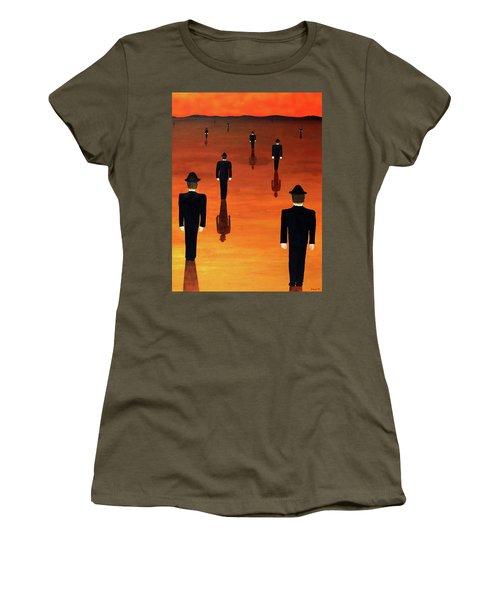 Agents Orange Women's T-Shirt (Athletic Fit)