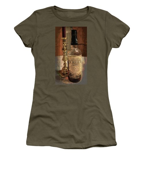 Women's T-Shirt (Athletic Fit) featuring the photograph Ahhh, Yes by Guy Whiteley