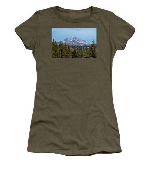 Alaska Range Women's T-Shirt (Athletic Fit)
