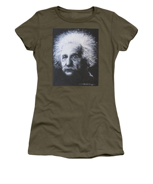 Albert Einstein Women's T-Shirt