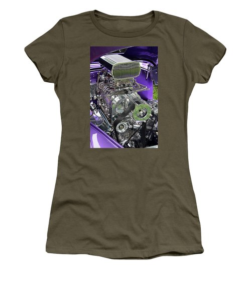 All Chromed Engine With Blower Women's T-Shirt