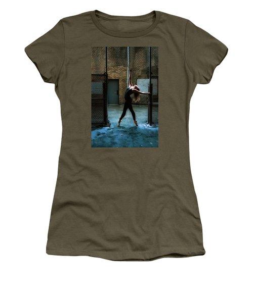 Alley Dance Women's T-Shirt (Athletic Fit)
