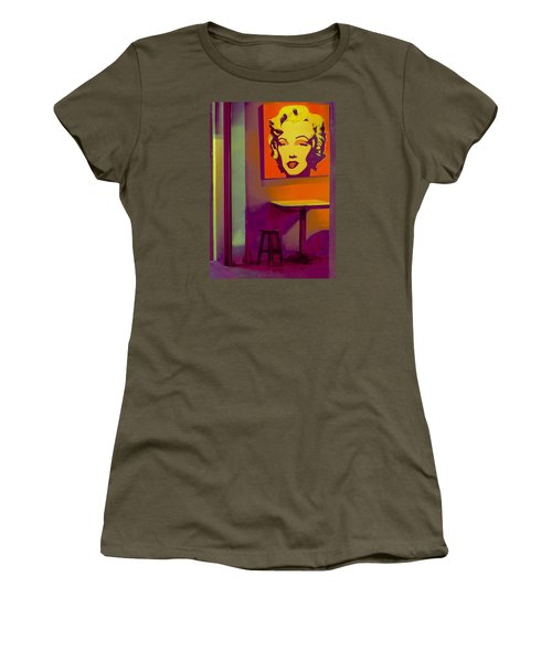 Alone Again Women's T-Shirt (Junior Cut) by Ranjini Kandasamy