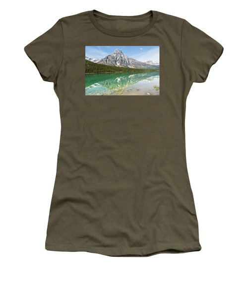 Along Highway 93 Women's T-Shirt (Athletic Fit)