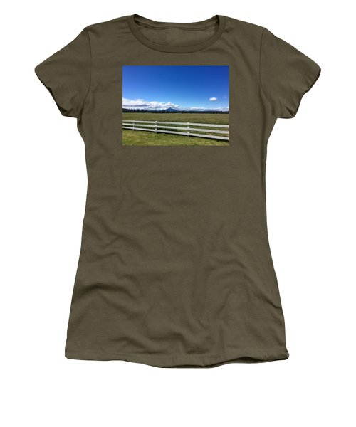 Along The Fence Line Women's T-Shirt