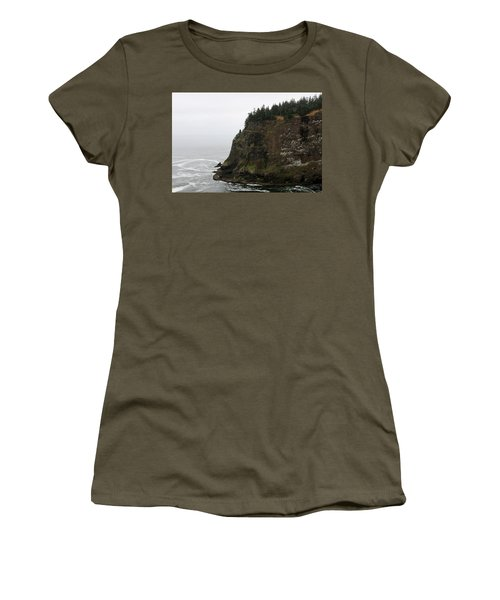 Along The Oregon Coast - 6 Women's T-Shirt (Athletic Fit)