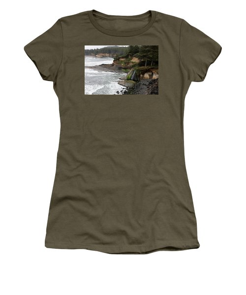Along The Oregon Coast - 7 Women's T-Shirt (Athletic Fit)