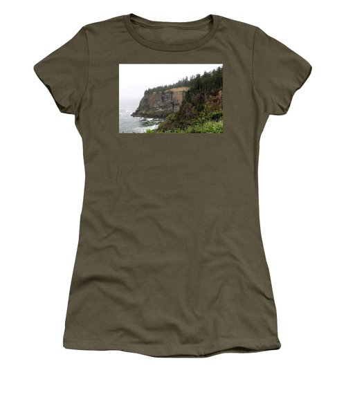 Along The Oregon Coast - 8 Women's T-Shirt (Athletic Fit)