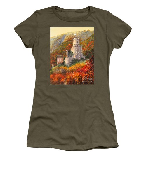 Along The Rhine I Women's T-Shirt (Athletic Fit)