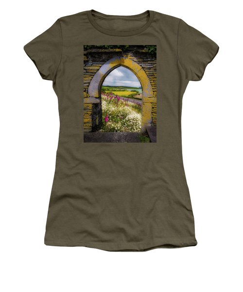 Women's T-Shirt (Athletic Fit) featuring the photograph Along The Shannon Estuary by James Truett