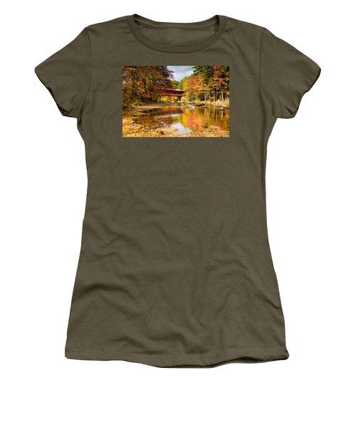 Along The Swift River Women's T-Shirt