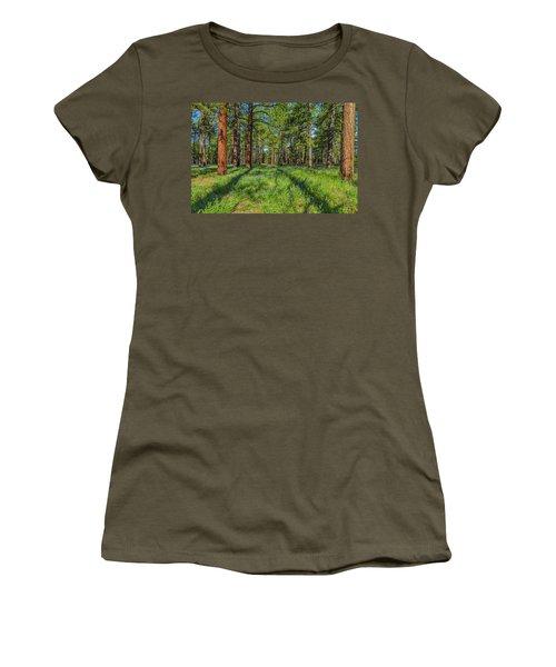 Alpine Flowers Women's T-Shirt (Athletic Fit)