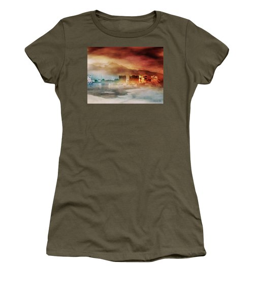 Alpine Landscape II Women's T-Shirt (Athletic Fit)