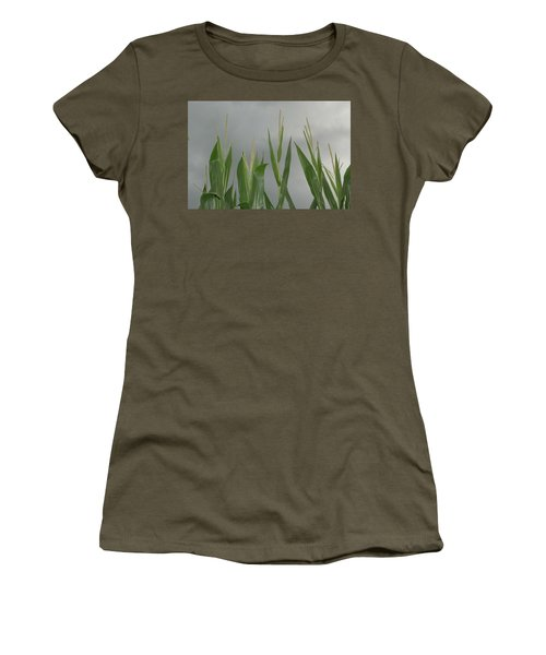 Amber Waves Women's T-Shirt (Athletic Fit)