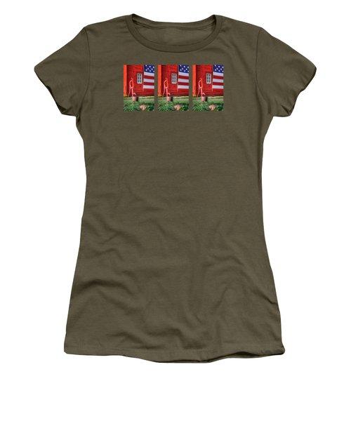 American Farm - 1 - Mug Women's T-Shirt
