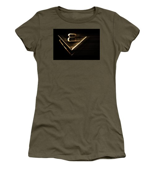 American Muscle V8 Women's T-Shirt (Junior Cut) by Gray  Artus