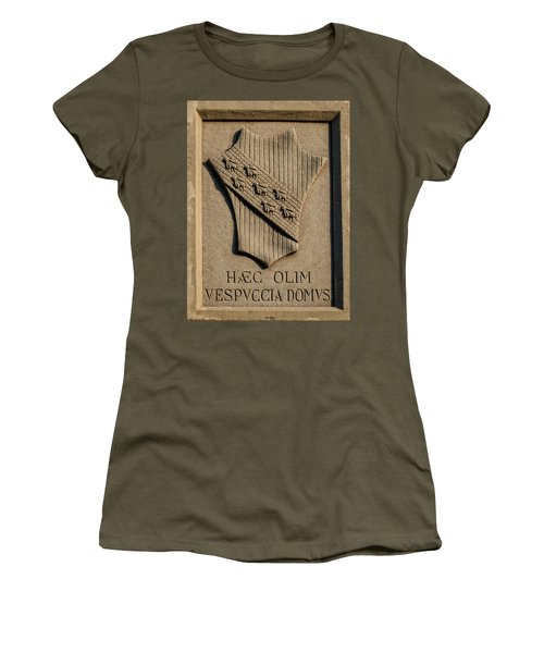 Amerigo Vespucci Lived Here Women's T-Shirt